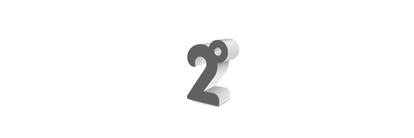 2 Degrees logo